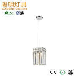 Mini-Poignée de commande E27 E26 Lampe lustre en cristal pendentif cristal de lumière LED Lighitng