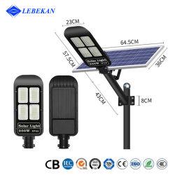 Фонарь освещения солнечной энергии Lebekan 50W 100 Вт 150W 200 Вт 300W улице лампы прожекторов на крыше для использования вне помещений IP65 дистанционного высокой мощности отражатель Встроенный светодиодный индикатор дорожного движения солнечной энергии на путь света