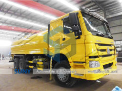 6X4 HOWO Camion de livraison de l'eau de 20 M3 camion de transport du réservoir