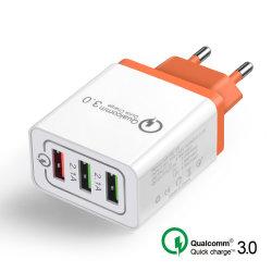 18 W universel USB 3.0 de charge rapide 5V 3A pour iPhone 7 8 NOUS L'UE Plug Téléphone Mobile Chargeur rapide pour charge Samsug S8 S9 Huawei