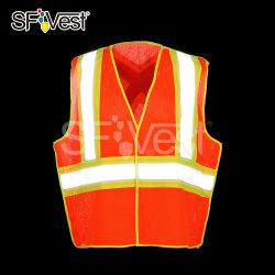 Hallo namelijk PPE het Weerspiegelende Vest van de Slijtage van het Werk van de Veiligheid Vest Aangepaste Eenvormige