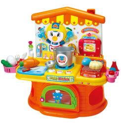 Kinder täuschen eingestellten Spiel-Spielzeug-die batteriebetriebenen Küche-Spielwaren vor (H0009372)