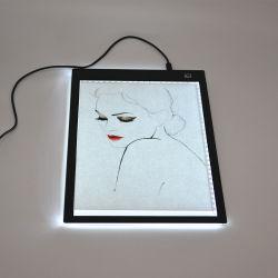 A0 A1 A2 A3 A4 LED 쓰기 그림 정제 추적 패드 OEM/ODM 아크릴 위원회 가벼운 상자