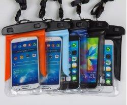 PVC personnalisée Téléphone Mobile pochette étanche couvercle de boîtier de sac à sec pour l'extérieur