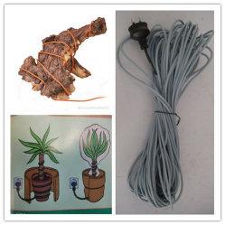 온도 조절기가 있는 안전한 토양/식물 난방 케이블