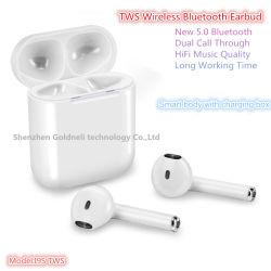 携帯電話のiPhone、Huawei、SamsungのためのBluetooth無線Earbudsのイヤホーンを通したI9s 5.0 Twsの二重呼出し