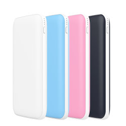 Тонкий 2A зарядное устройство для мобильных ПК 10000 mAh USB типа C банк легко выполнять