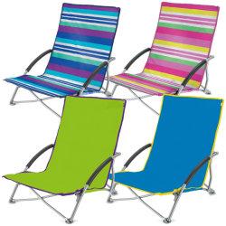 낮은 시트 접히는 비치용 의자, 축제 바닷가 수영장 픽크닉 Deckchair 야영 Lounger, 쉬운 팝업 접는 의자