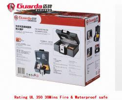 上のグアルダOEM耐火性の安全な防水文書ボックスA4アマゾン