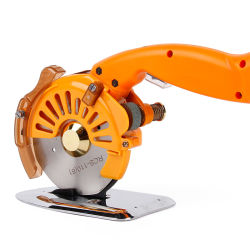 Электрический вращающийся нож регулируемой скорости ткань Scissor 100 мм/4 дюйма за круглым столом ножа
