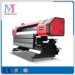 広告物質的な屈曲の旗の印字機の大きいフォーマットのインクジェットEcoの溶媒プリンター