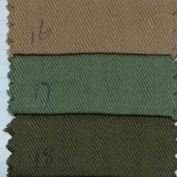 標準的な衣服ファブリックのための織物100の綿によって編まれるヘリンボン新しいデザインによって染められるファブリック