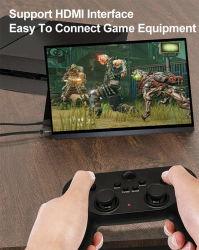 Поддержка интерфейса HDMI подключите игры для 15,6-дюймовый черный собственный логотип OEM ЖК-монитора