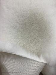 Garmentのための100%年のポリエステルSoft Plush Knitted Faux Fur Fabrics