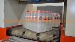 Vollautomatischer Flaschen-Verpackungs-Maschinen-Filmhülleshrink-Maschinen-Getränkewasser-Saft-Produktionszweig