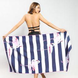 Personalisiertes Handtuch Gedruckt Mikrofaser Square Strand Handtuch Sommer Custom Print Sandfrei