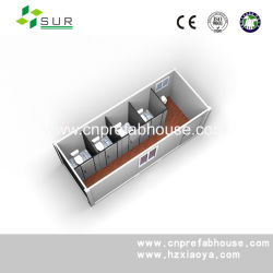 Toletta prefabbricata del contenitore mobile portatile di certificazione di iso e del CE (XYC-01)