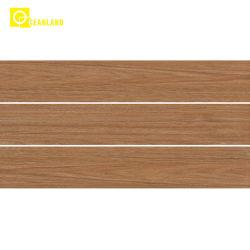 Mattonelle di pavimento di legno di ceramica di disegno della porcellana Polished piena della glassa di prezzi di fabbrica
