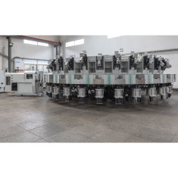 30 Stataions Automatische Drehtisch Typ PU TPU Material Injection Maschine auf dem Verkauf