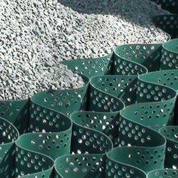 Renfort de la route de haute qualité en plastique pour le sol de gravier de géocellules PEHD stabilisateur
