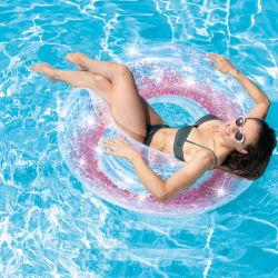 Летом из ПВХ открытый плавательный бассейн воды играют оборудование надувные Блестящие цветные лаки купаться кольцо для взрослых