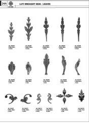 Folhas de ferro, ferro forjado Art