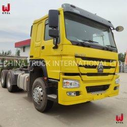 Sinotruck HOWO 371HP 6x4 10 ホイールトラクタトラックヘッド