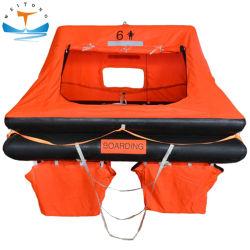 Solas 6 남자는 요트 배를 위한 Self-Righting 자동 팽창식 뗏목 또는 구명 뗏목을 던진다 배 밖으로
