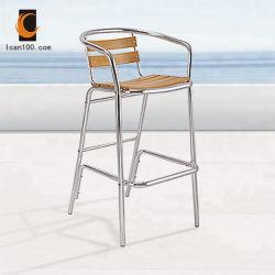 Presidenza di legno di alluminio delle feci di barra di Pedrali della prova dell'acqua del retro del commensale metallo esterno della mobilia