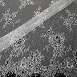 새로운 디자인 태피스트리 스니커즈 나일론 코튼 레이스 여성용 패브릭 드레스