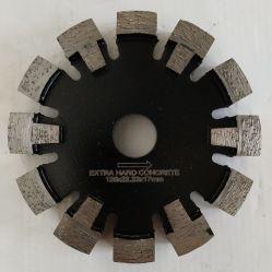 125mm Corte concreto soldada a laser Diamond Enfie Ponto lâminas de serra