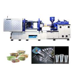 Pressa ad iniezione ad alta velocità Hxh260 produce 24 cavità cucchiaio, forchetta, coltello