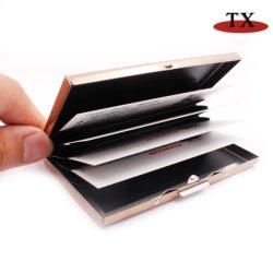 Прямоугольник формы бизнеса Cardcase металлические имя держателя карты