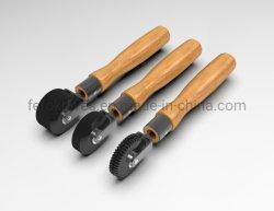 Herramientas de rodillo de compactos de neumáticos de caucho