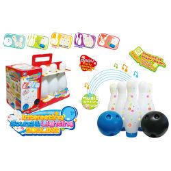 Enfants Sport Toy boule de bowling avec la musique (H10882006)