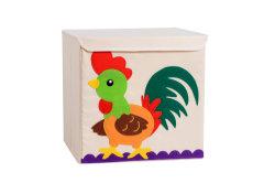 يطوي تخزين بناء سلة حيوانيّ بناء صندوق