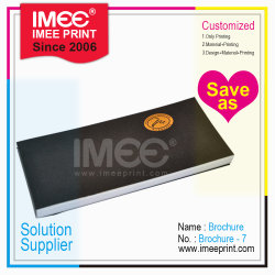 Diseño personalizado de impresión Imee Imprimir folleto Softcover 7