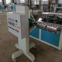 Sj25 laboratorio de plástico pequeña maquinaria de extrusión de plástico