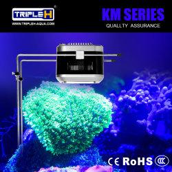 Le meilleur éclairage utilisé de vente de l'aquarium DEL de récif coralien de bouton poussoir du CREE RVB DEL de Ce&RoHS&CCC 100W