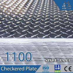 Alclad 1050 H24 Al. Клетчатого алюминиевую пластину для автомобиля шаги
