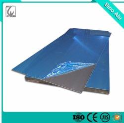Finition en aluminium d'usine UN5754 H114 avec la plaque de protéger le film de matériaux de construction