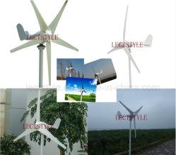 12V 24V 100With200With300With400W Schaufel-Wind-Turbine der Dauermagnetgenerator-horizontale Mittellinien-drei