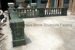 Asta della ringhiera europea Mbal-020 della pietra della balaustra del marmo della balaustra