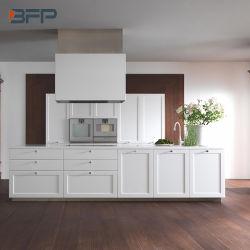 Painel do sacudidor de madeira sólida Mobiliário de cozinha