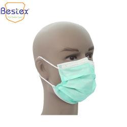 Médecin Chirurgien Hôpital de chirurgie dentaire de l'examen de la sécurité de protection de la bouche nontissé 3ply BFE99 Les enfants de la poussière de papier Masque jetable avec contour/Tie sur
