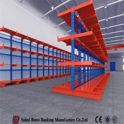 El equipo de logística de almacén de tubo de acero en voladizo de almacenamiento Rack