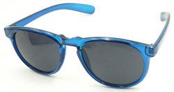 F17050 Clássico Superior plana, óculos de plástico barato rodada óculos de sol