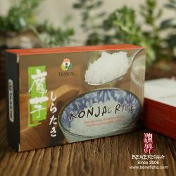 Потеря веса органических Konjac Shirataki лапши риса форму