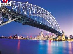 Puente de acero prefabricados personalizados económicos los puentes de carretera