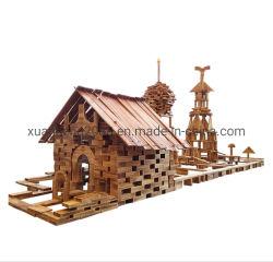 Деревянные образования Carbonized Building Blocks игрушки играть на открытом воздухе оборудования